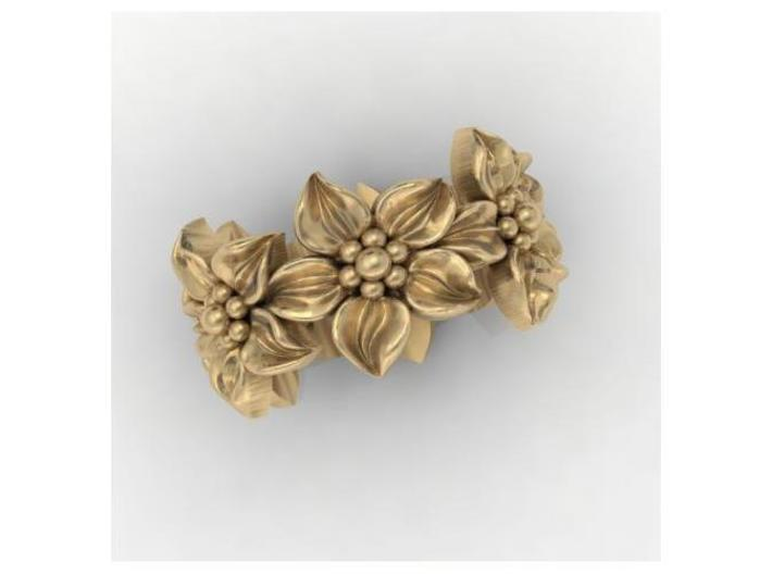 Flower Band Size 9 3d printed