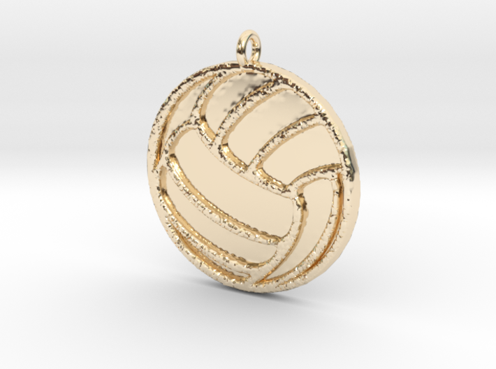 Volleyball 3d printed