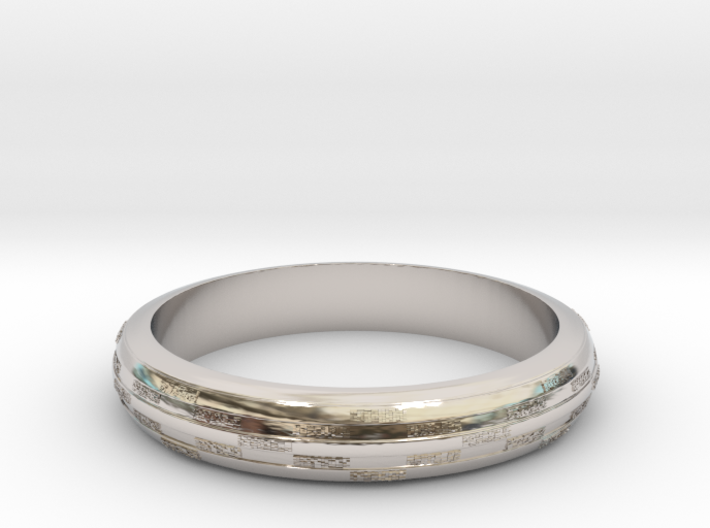 Ring Hilly special 3d printed