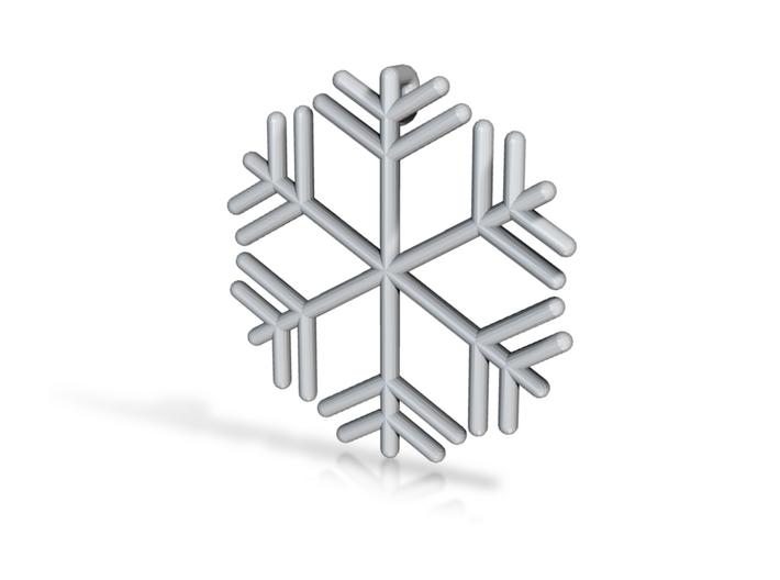Snowflakes Series III: No. 8 3d printed
