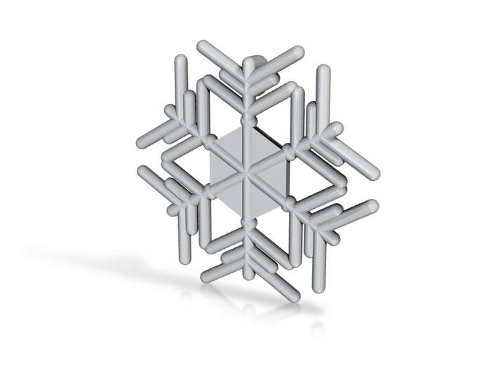 Snowflakes Series III: No. 11 3d printed