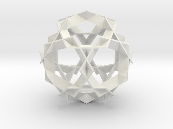 Asterisk Ball - 7.2 cm 3d printed