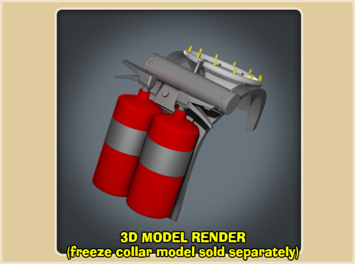 Freeze Backpack 3d printed