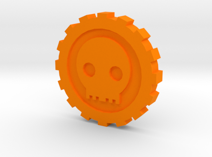 Cog Dubloon 10 piece 3d printed