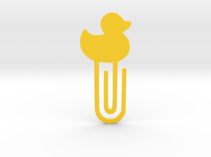 Paper clip / bookmark 3d printed