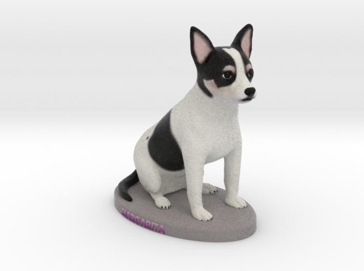 Custom Dog Figurine - Margarita 3d printed