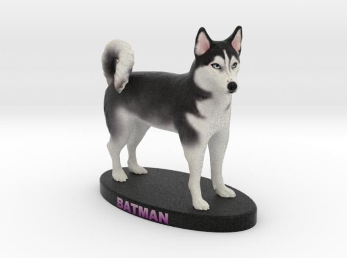 Custom Dog Figurine - Batman 3d printed