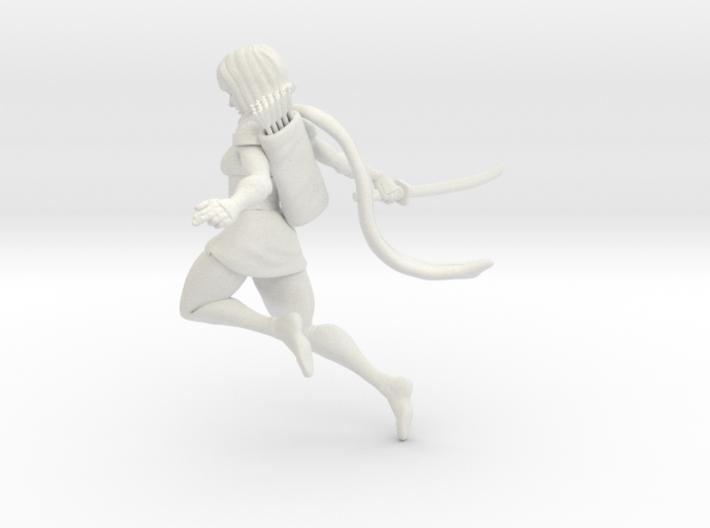 Ninja girl no base 3d printed