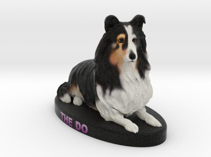 Custom Dog Figurine - Shelby 3d printed