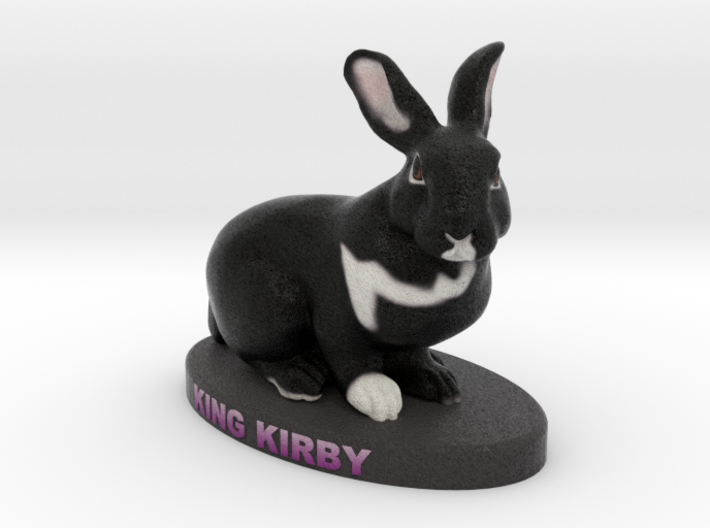 Custom Rabbit Figurine - Kirby 3d printed