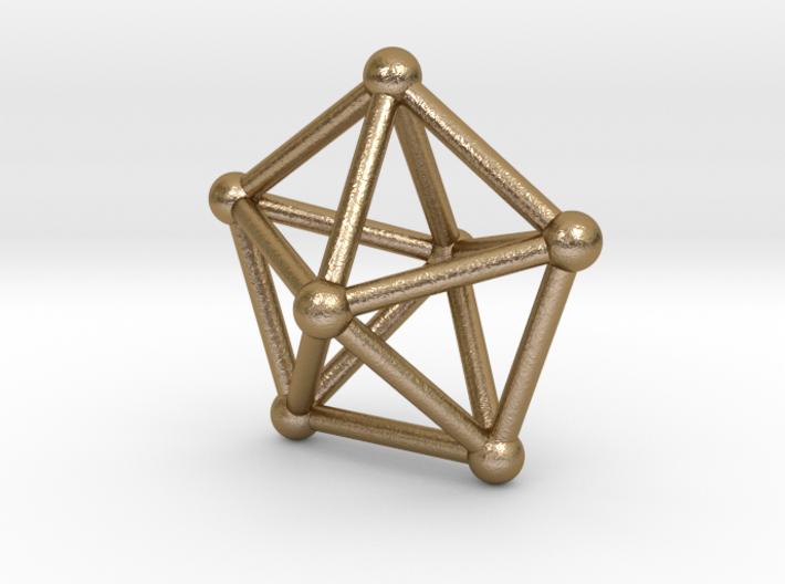 0308 Pentagonal Bipyramid J13 V&E (a=1cm) #002 3d printed