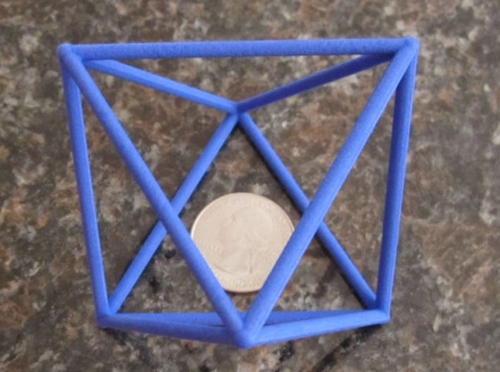 Octahedron (100 cc) 3d printed