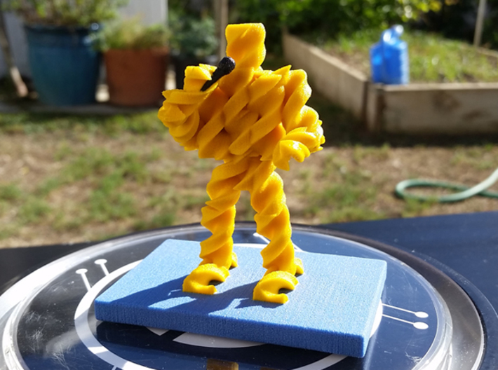 FusilliJerry 3d printed
