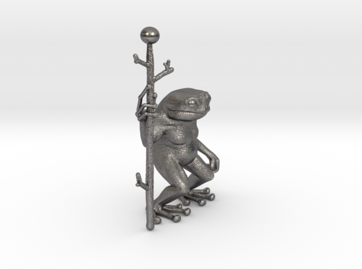 Little Frog Shaman 3d printed
