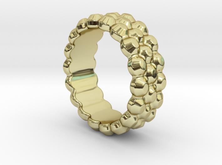 Chocolat Ring 28 - Italian Size 28 3d printed