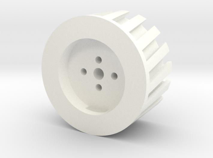 Turbofan Engine Fan Blade Connector V1 3d printed
