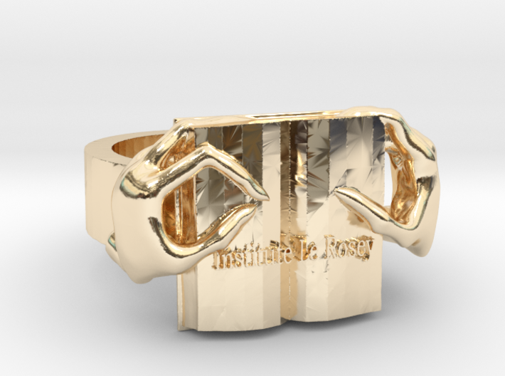 New Female Ring 3d printed