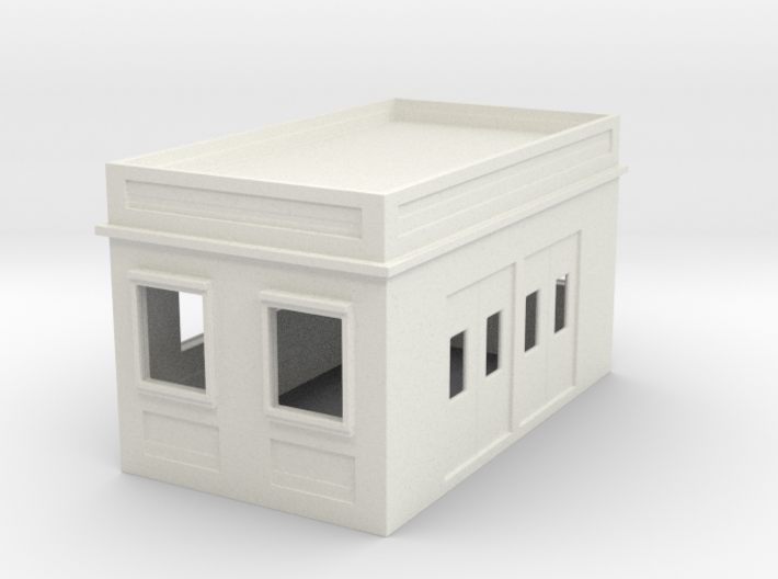 N Scale / N Gauge (1:148) Lower Funicular Station 3d printed