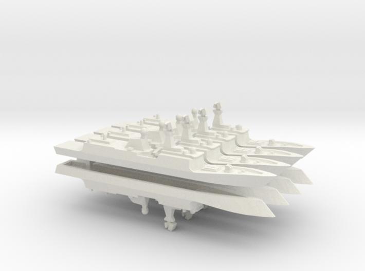 PLA[N] 054A x 8, 1/2400 3d printed
