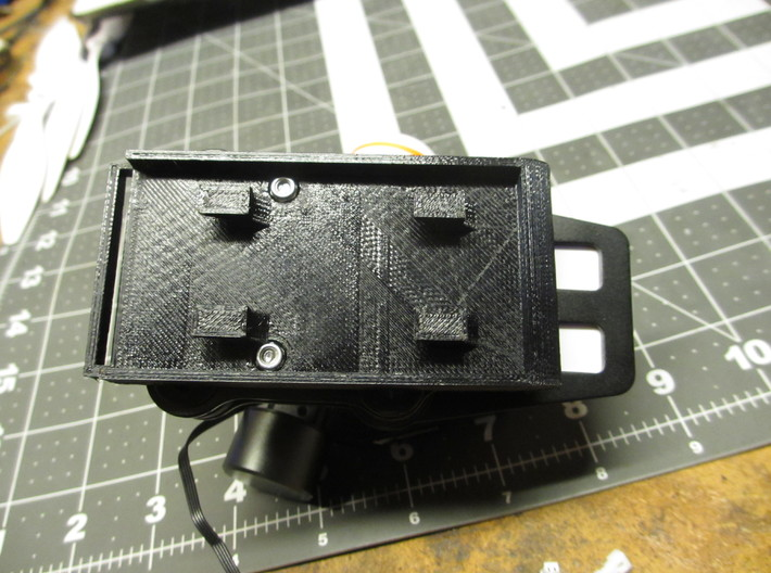 Walkera QR X350 Pro G-2D Gimbal Quick Release Syst 3d printed