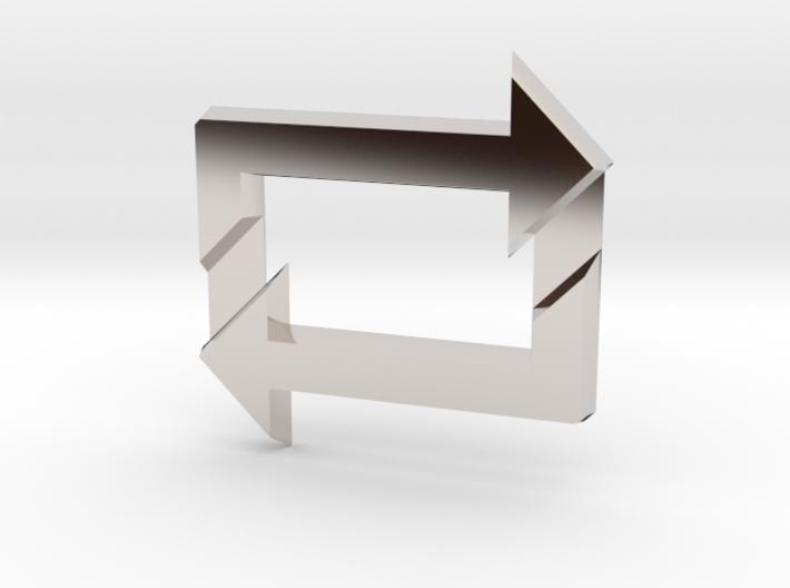 Reblog Pendant 3d printed