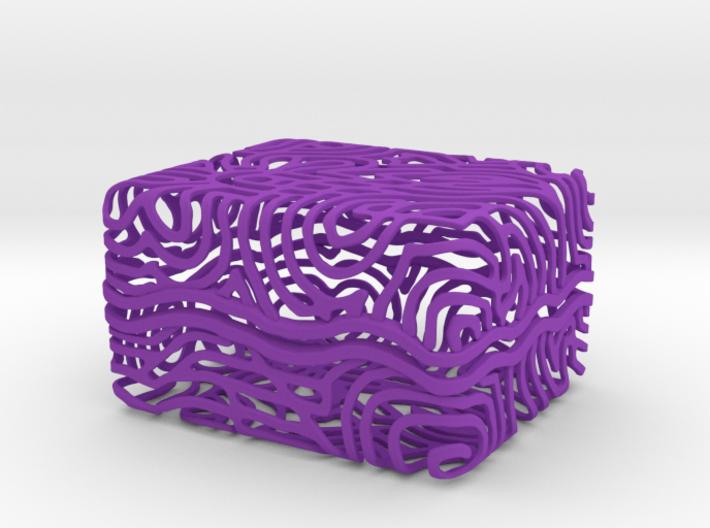 Abstract Keepsake Box 3d printed