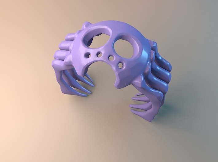 Halloween Spider Ring 3d printed