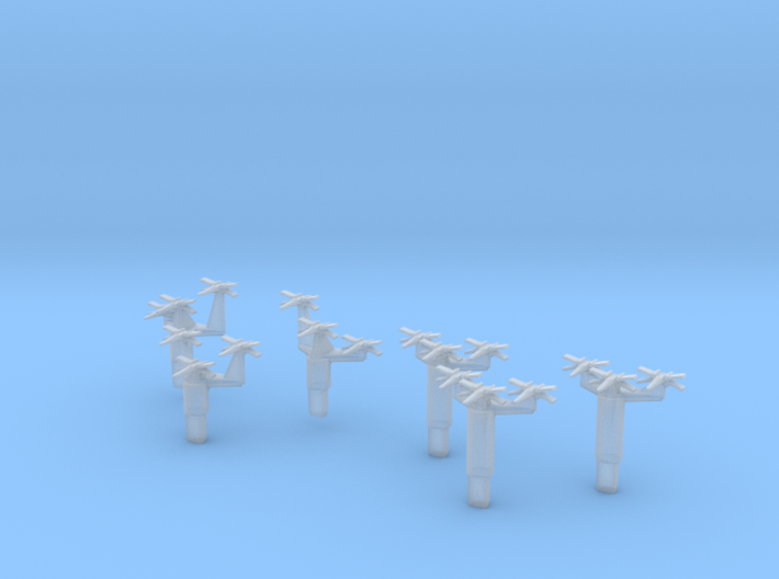 Small Fighter Trees 3d printed