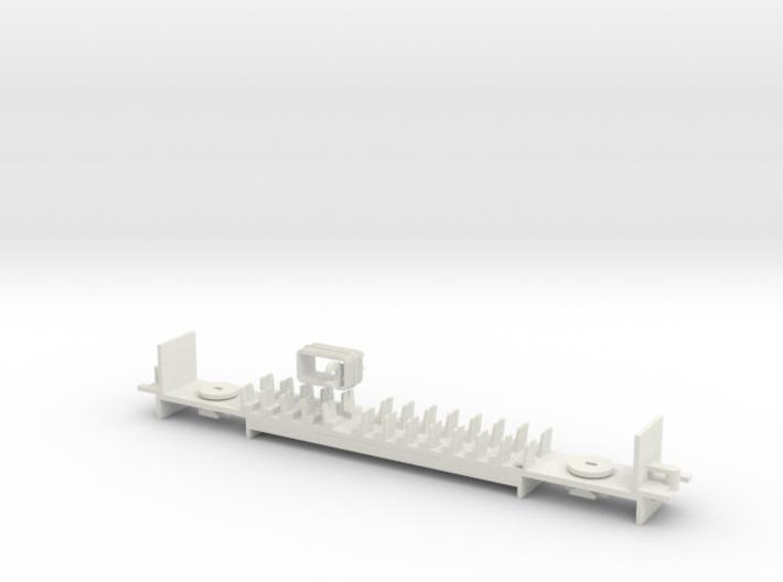 AU/N.02B - Part B - V/Line V'Locity DMU Carriage - 3d printed