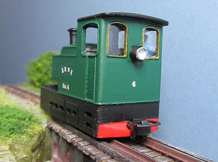 009 Irish Tram Engine  3d printed
