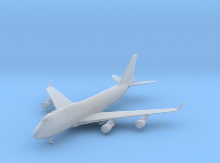 1/700 747-400 w/gear (FUD) 3d printed