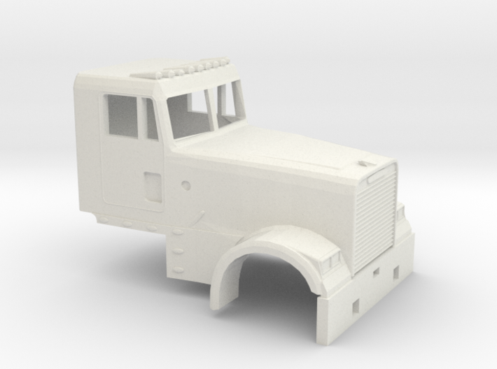 1/87 Fld Classic Day Cab 3d printed