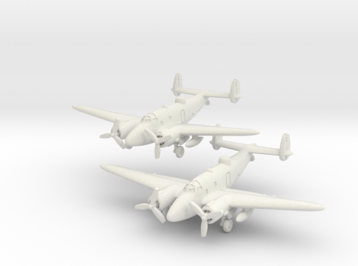Lockheed PV-1 Ventura set (Two models) 6mm 1/285 3d printed