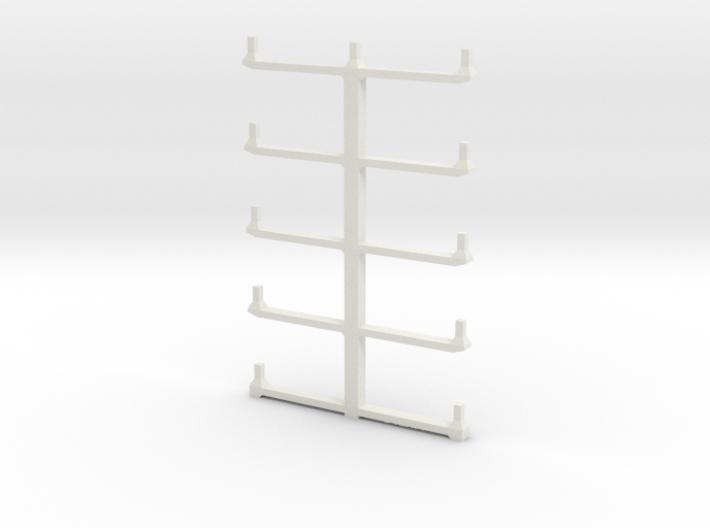 Well Car Rack (10-Unit) 3d printed