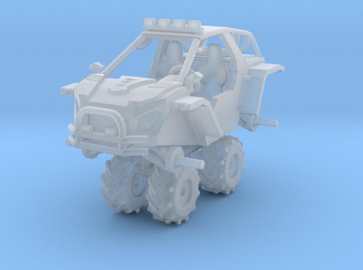 1/64 Scale BXR5-7 MUD 3d printed