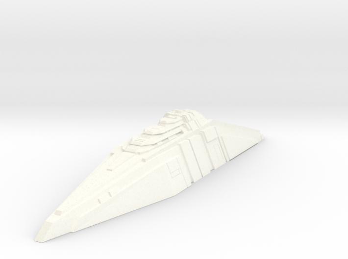 Ship Concept - Tide Breaker (Widened Version) 3d printed