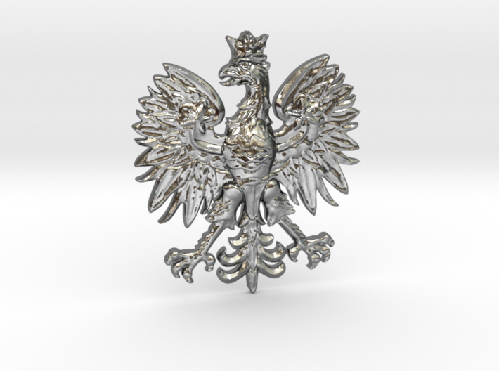 Polish eagle pendant 6svppgwlq by armstrong3d polish eagle pendant 3d printed aloadofball Choice Image