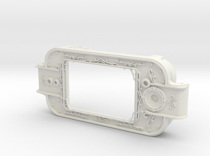 MPDA Screen Faceplate (Screen-Accurate Size) 3d printed