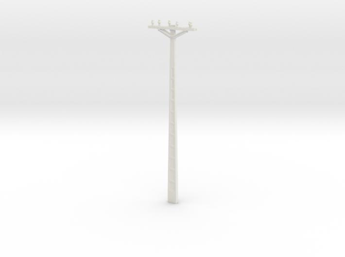 Concrete Powerline 01. Scale 1:24 3d printed