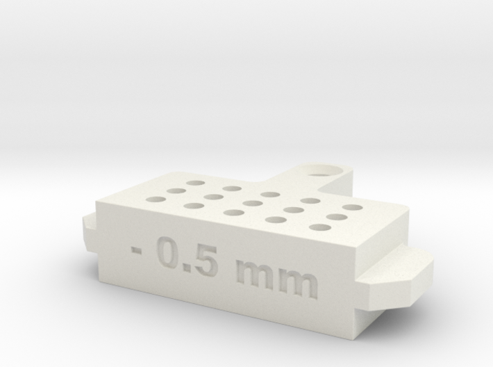 Bleed Block-.5mm 3d printed