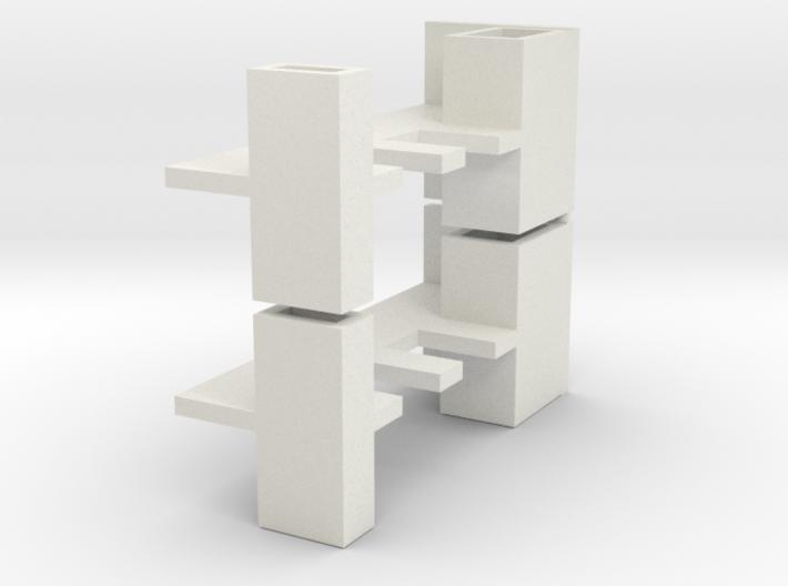 2x Brett-Lehre Abstand 15mm (1/220) 3d printed