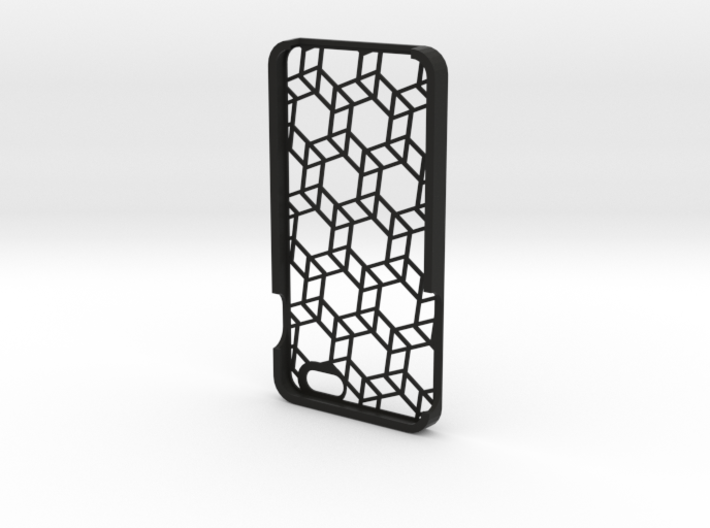iPhone 6 Plus geometric case 3d printed