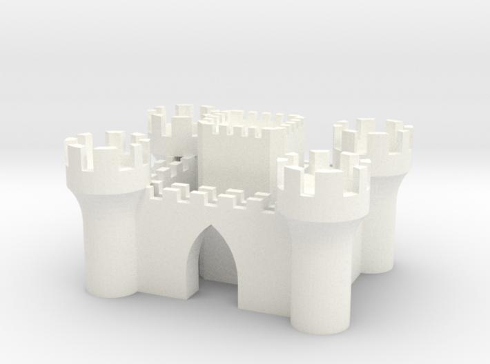 Castle 3d printed