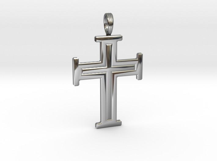 DIVINE CROSS 3d printed