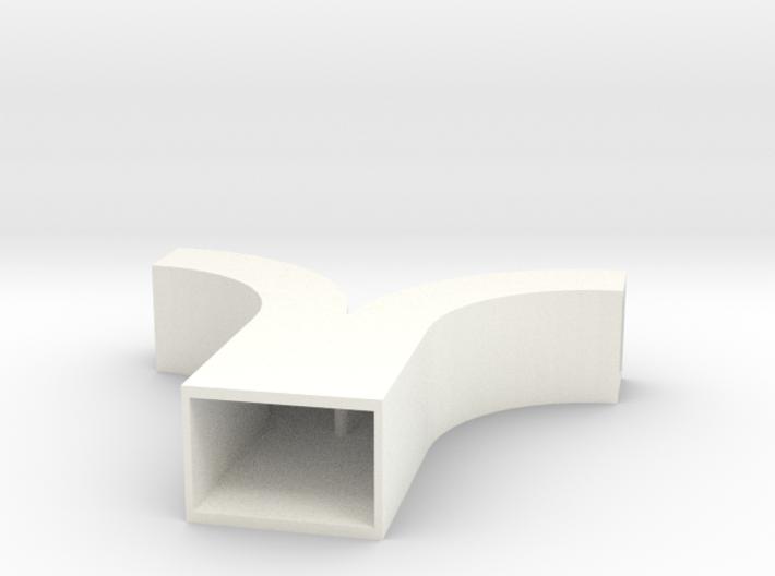 Duct Symmetrical Wye 3d printed