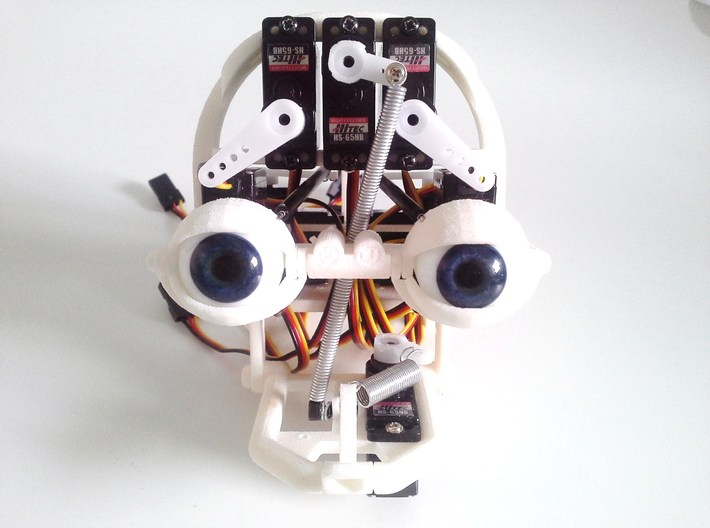 Animatronic Head NANO 3d printed