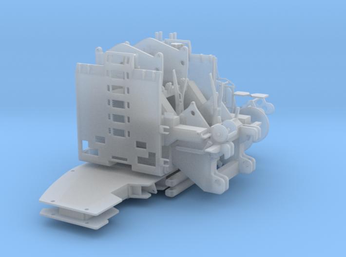 Motoreinheit und Ballastgrundplatte für 1/87 750t 3d printed