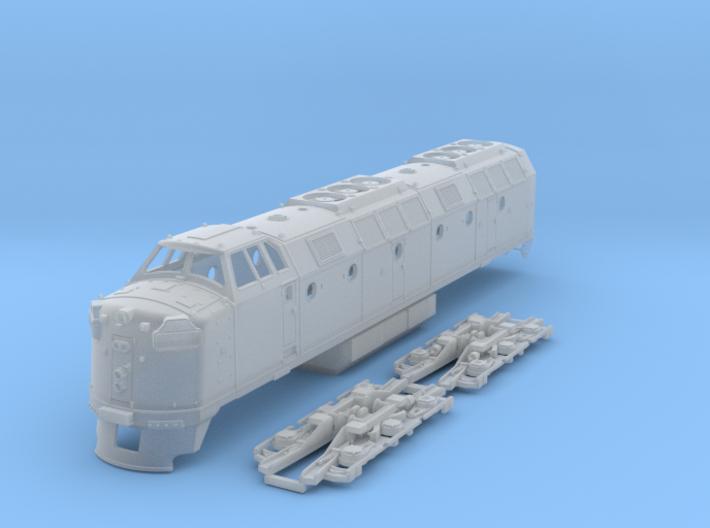 Krauss-Maffei ML4000 1:120 Scale 3d printed