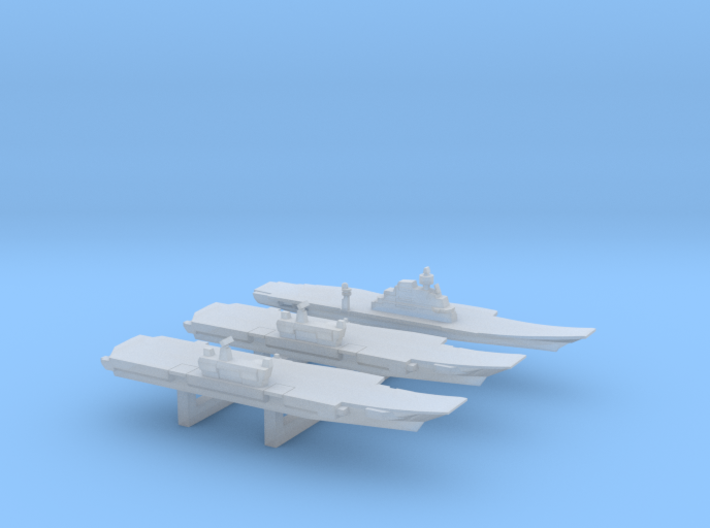 INS Future Carrier Pack, 3 pc, 1/6000 3d printed