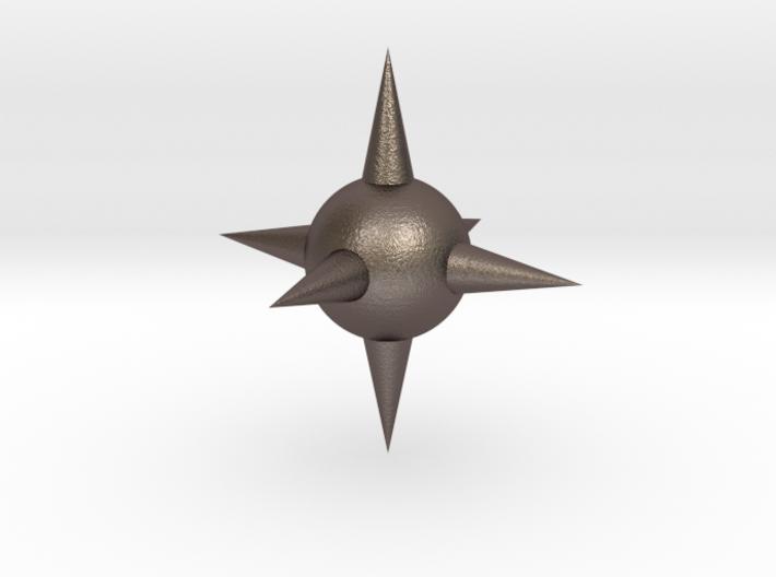 Spike Ball 3d printed